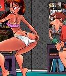 Cartoon porn delight